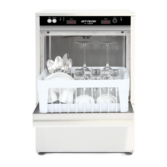 Jet tech f 16dp under counter glass and cup washer for Kitchen equipment in nepal